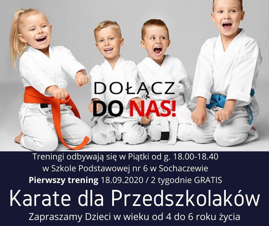 Karate dla Przedszkolaków