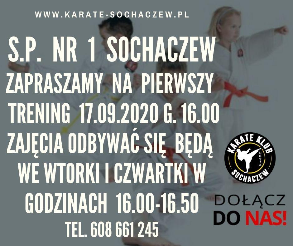 Zapraszamy do sp nr 1 Sochaczew