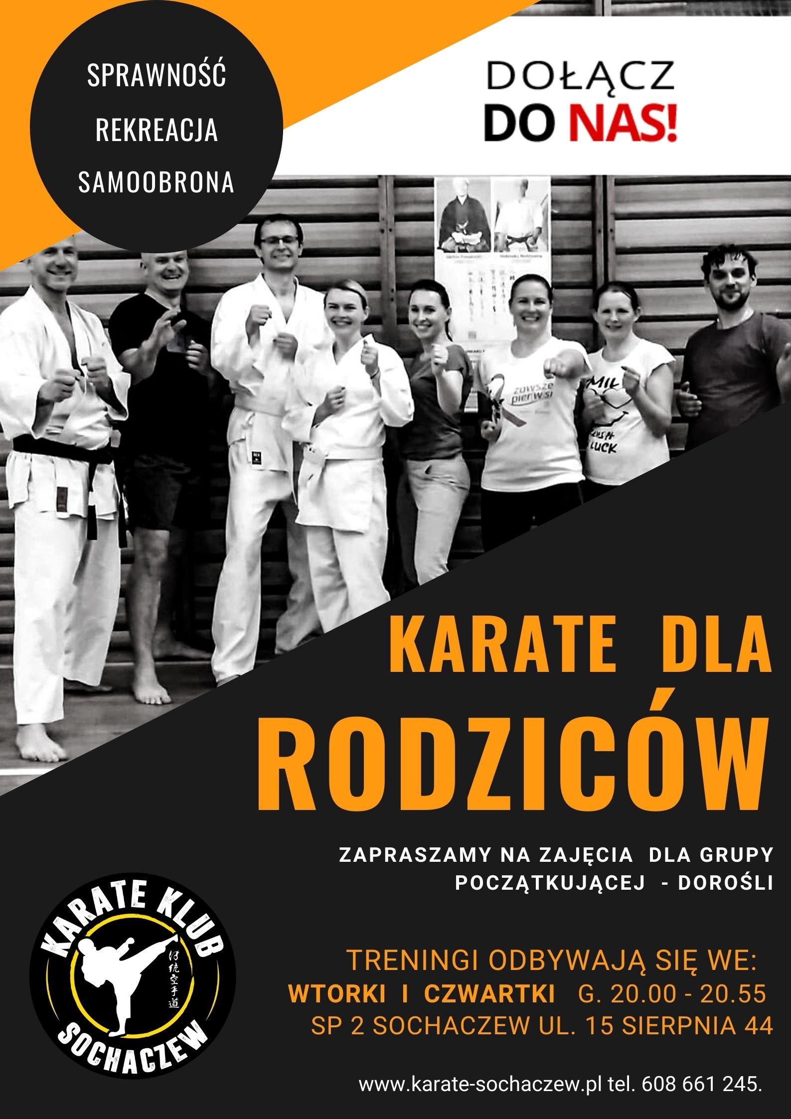 karate dla rodziców